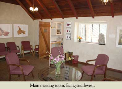 Main Room: Southwest